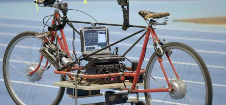 self-driving bicycle